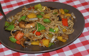 Stir-fried Rose noodles